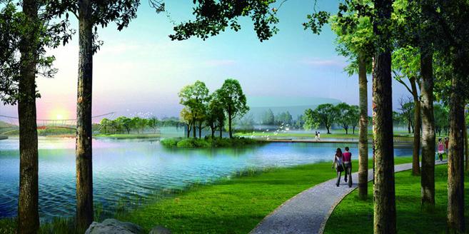 徐州大龙湖生态公园景观设计
